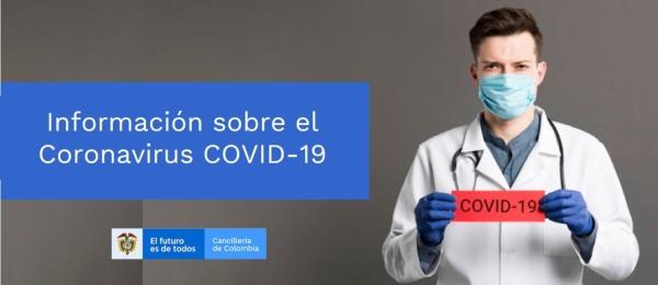 El Consulado de Colombia en Esmeraldas publica las medidas de prevención recomendadas por el Ministerio de Salud del Ecuador sobre el Novel Coronavirus