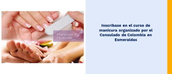 Inscríbase en el curso de manicura organizado por el Consulado de Colombia
